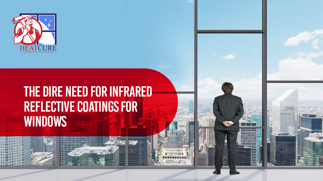 infrared reflective coatings for window